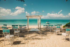 Beach wedding at Beaches Turks and Caicos