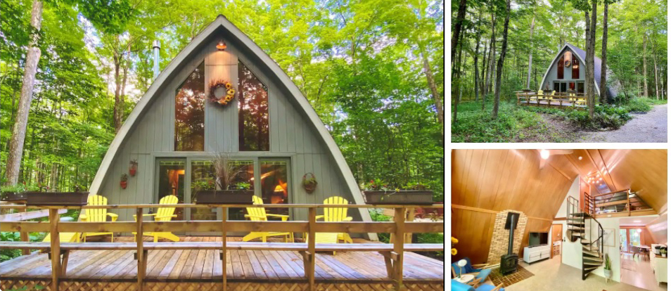 Beechwood Cottage - Secluded A-Frame in Sister Bay