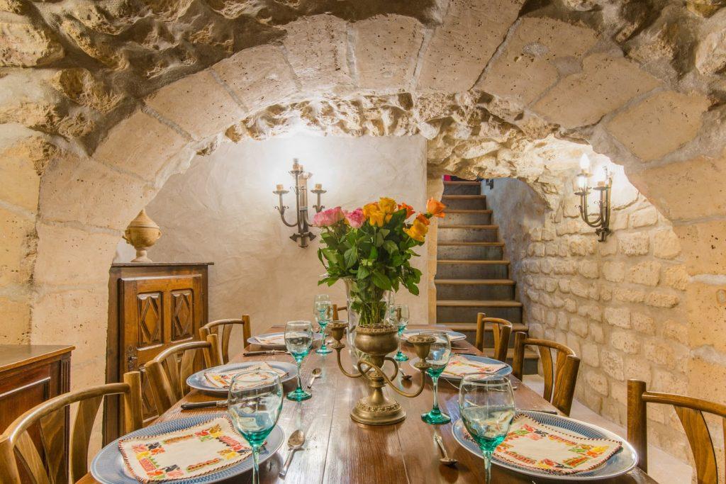 Romantic Airbnb apartment in Paris in the heart of the historic Marais in Paris France