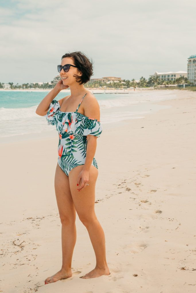 Shein one piece swimsuit review