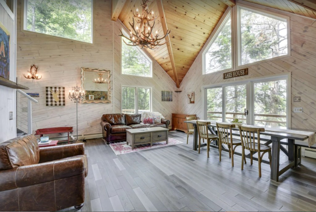 Luxury Modern Cabin On Deer Lake!?Outdoor tub. One of the cleanest lakes in MN ❤️