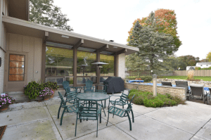 Mid-century 4-bedroom modern house with in-ground pool in Brookfield