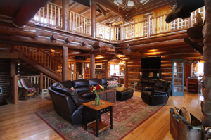Rustic luxury cabin on 44 private acres - Blue Mounds, Wisconsin