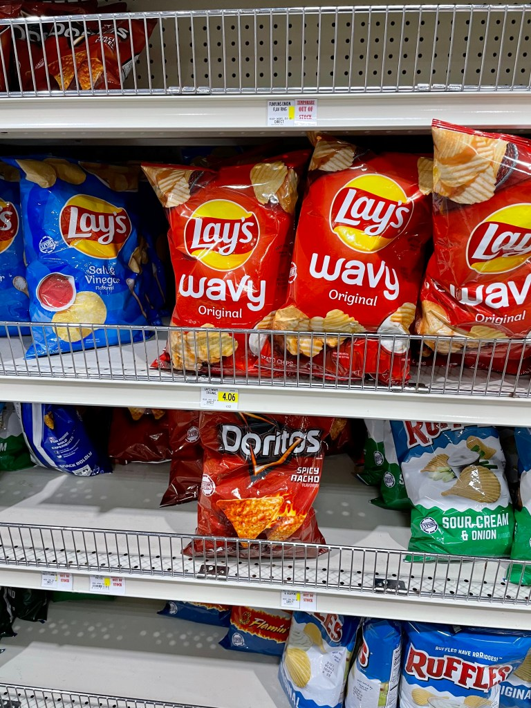 Chips granola bars Grocery Prices in Turks and Caicos