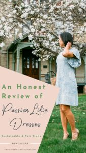 Honest Review of Passion Lilie's Fair Trade & Sustainable Dresses