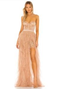 X REVOLVE Bustier Gown For Love & Lemons brand:For Love & Lemons