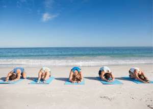 Try Yoga by the Beach