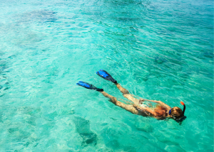 Snorkeling and Shore Diving at Malcolm's Road Beach