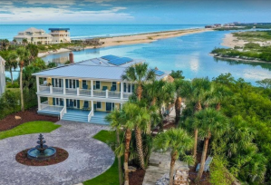 Historic Luxury Home with Water Views and Private Pool - St. Augustine, Florida