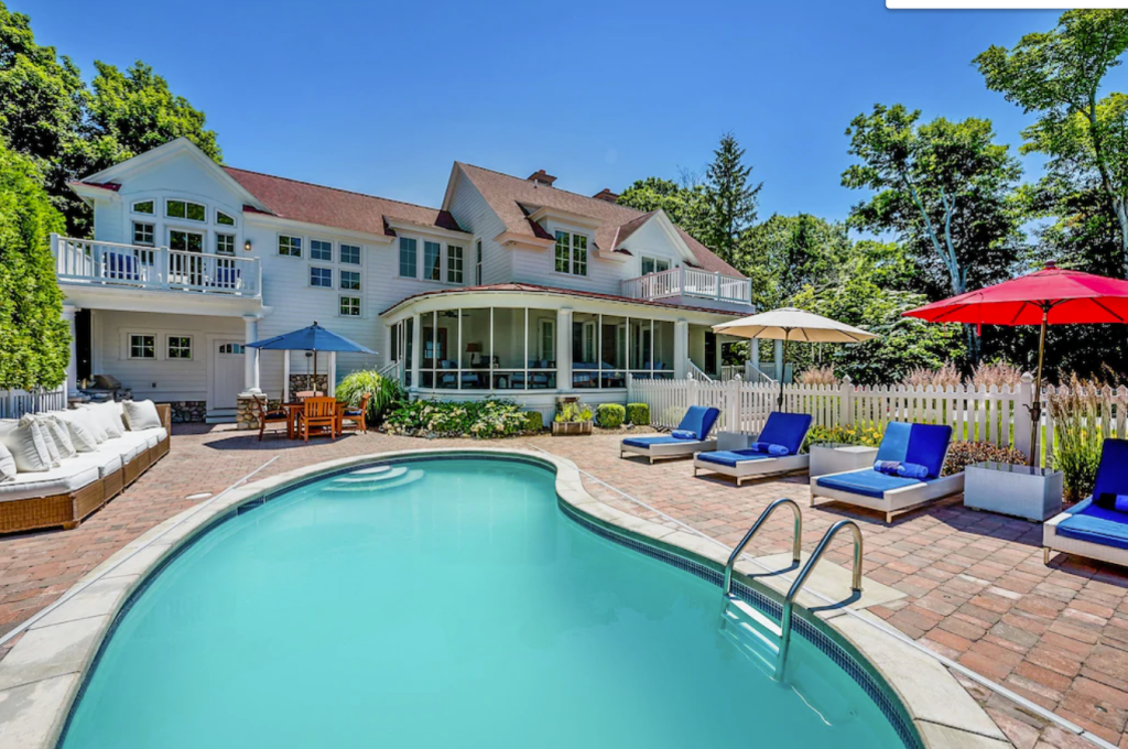 Lakefront Retreat with Private Beach - South Haven