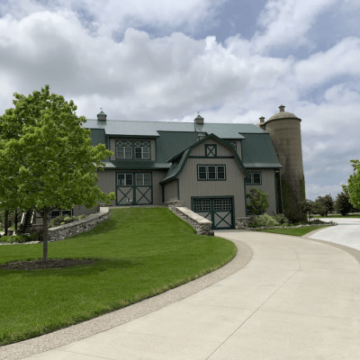 EAA 6-bedroom Barn Turned Dream Home with Large Koi Pond