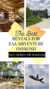 20+ Cool EAA House Rentals Near Oshkosh, WI (2021)
