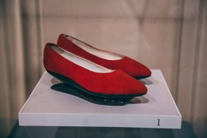 Paine Art Center shoes display