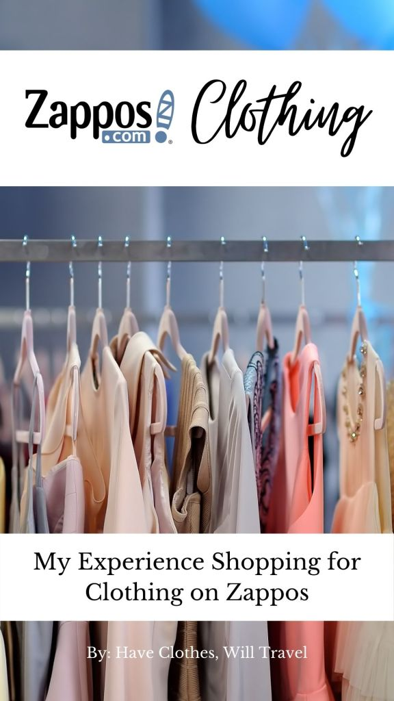 My Experience Shopping for Clothing on Zappos & The Style Room