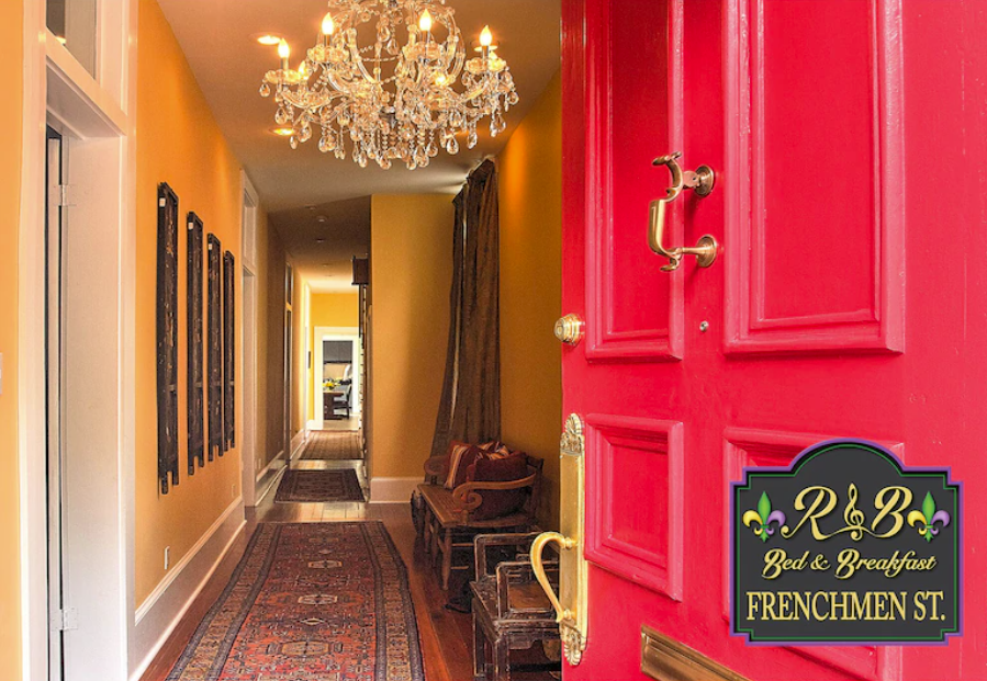 5-bedroom 151-year-old Home on Frenchmen Street