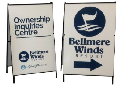 A-Frame for Bellmere Winds