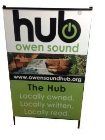 A-Frame for Hub Owen Sound