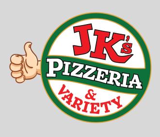 JK's Pizzeria Logo