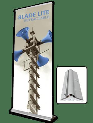 blade lite banner stand