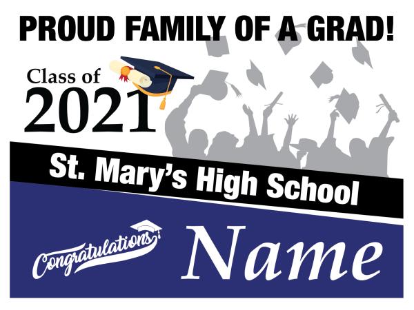 Custom 2021 Grad Sign