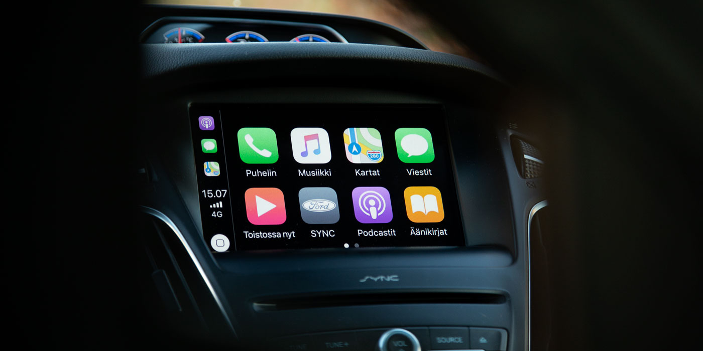 Ford SYNC3 ja Apple Carplay