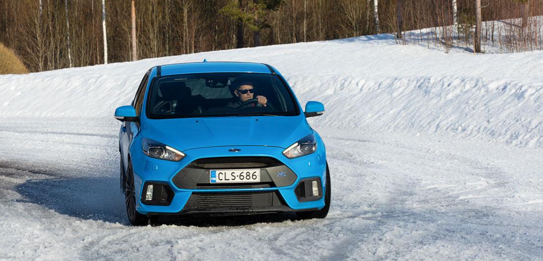 Ford Focus RS Premier Parkin s-mutkassa.