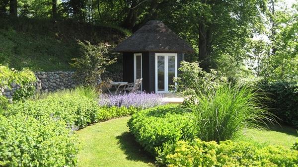 Have tegnet af havearkitekt Merete Høgsaa