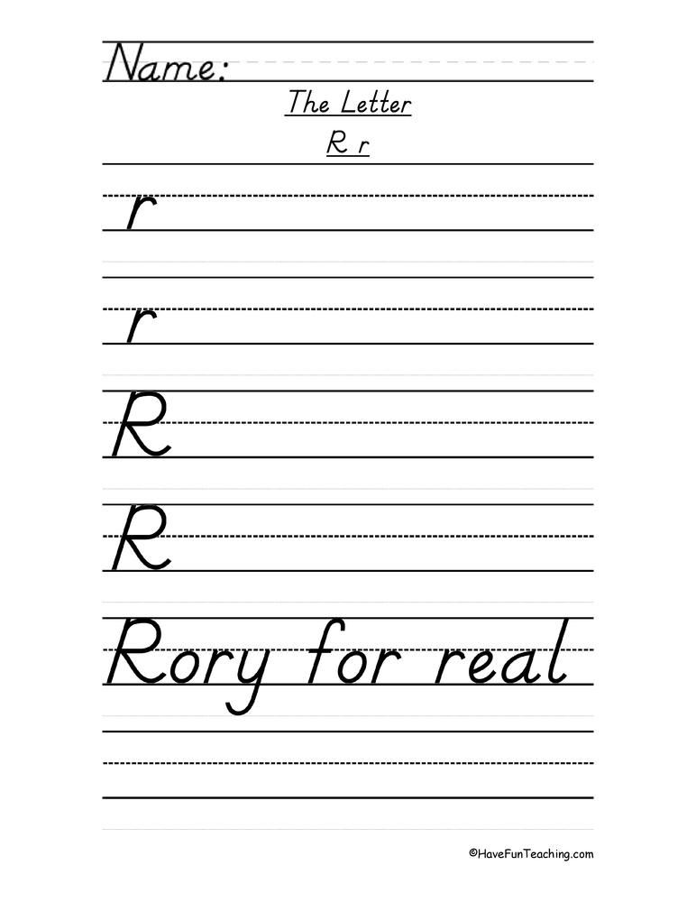 Writing Handwriting Worksheets Resources