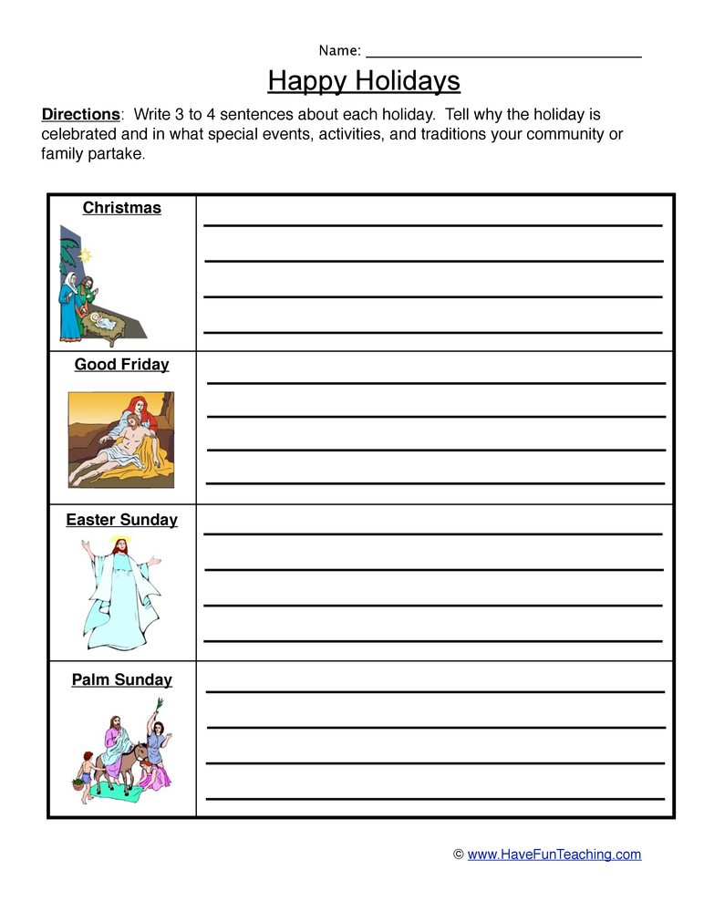 Palm Sunday Worksheets Have Fun Teaching