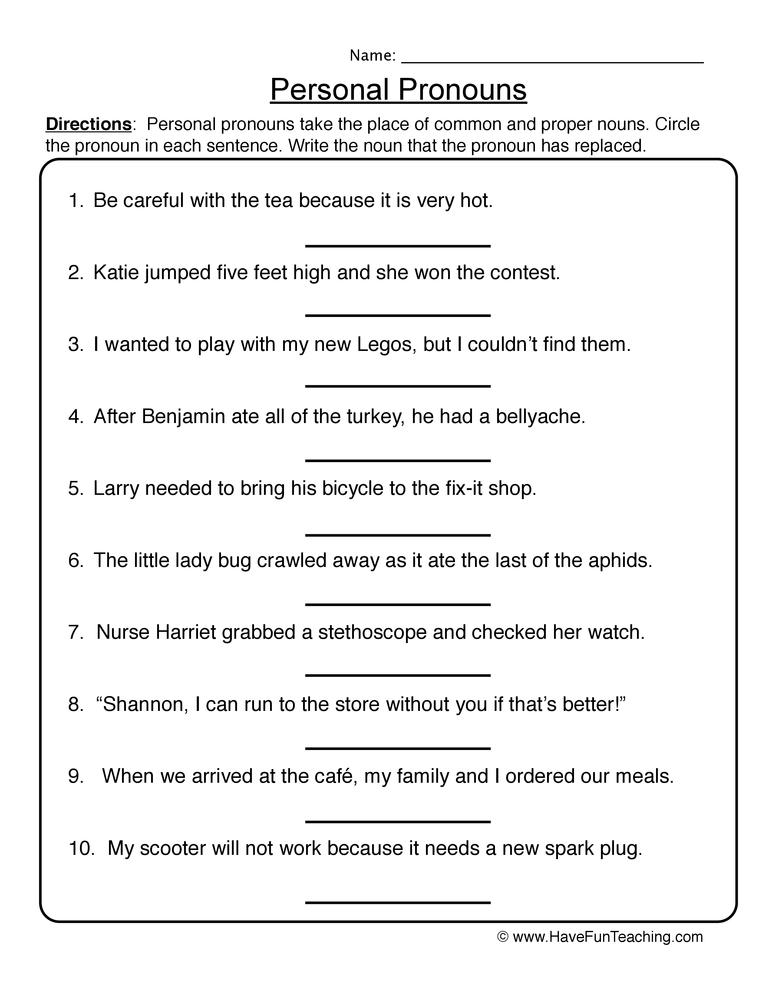 Noun Plural 3rd Printables Worksheets Grade