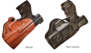proper concealed carry holster