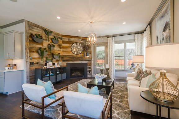 Haven-Design-Works-Atlanta-Front-Door-Inwood-Barnesdale-Family-Room-Wood-plank-wall