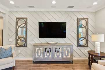 Haven-Design-Works-Tampa-CalAtlantic-Enclave--at-Meadow-Pointe-model-home-Great-Room-wall-treatment