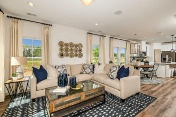 Haven-design-works-Atlanta-CalAtlantic-Charleston-Liberty Village-model-home-Open-Family-Room