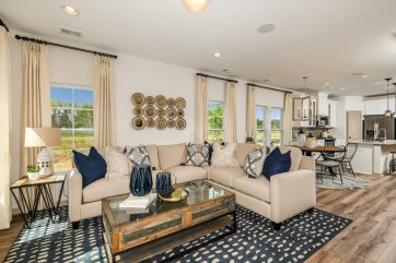 Haven-design-works-Atlanta-CalAtlantic-Charleston-Liberty Village-model-home-Open-Family-Room