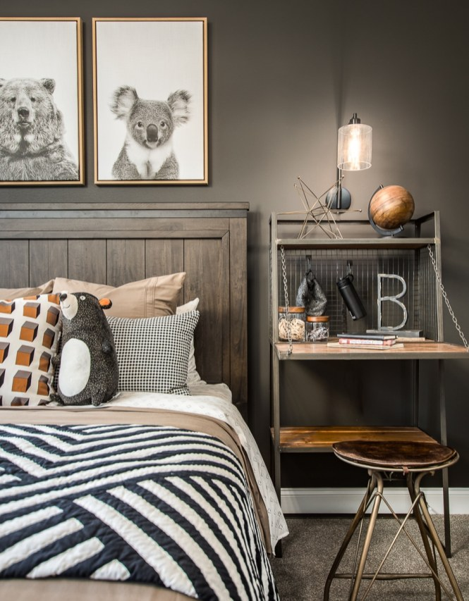 Haven-design-works-Atlanta-CalAtlantic-Atlanta-Tramore-model-home-Painted-Accent-Wall