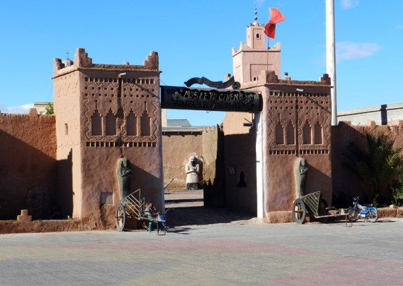 The Atlas film studio in Ouarzazate was used to shoot parts of Lawrence of Arabia and Game of Thrones.
