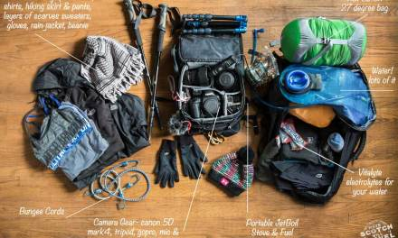 What's In the Bag- Packing For The Grand Canyon