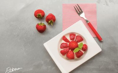 Jordbærsæsonen er over os