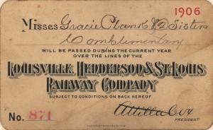 Rail Pass 1906