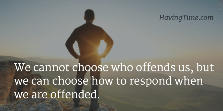 don't get offended quotes