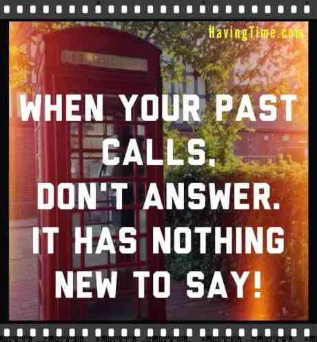 when past calls