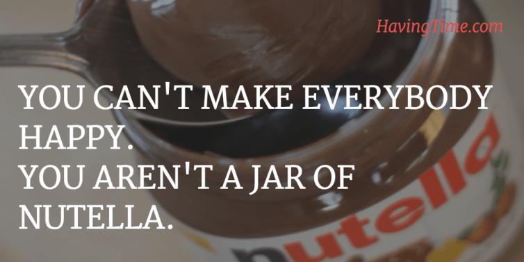 happy nutella