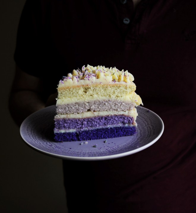Lavender Layer Cake|Havocinthekitchen.com