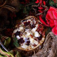Chestnut Prosciutto Cranberry Flatbread