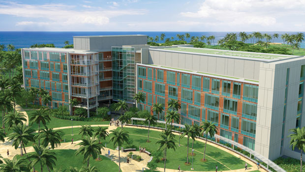 Rendering of new UH Cancer Center facility