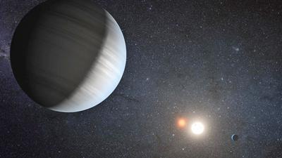 binary planet system