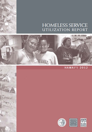 Center on the Family homeless services report cover