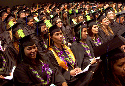 UH awarded 11,278 degrees and certificates in the 2013–14 academic year, a 13 percent increase over the previous year.