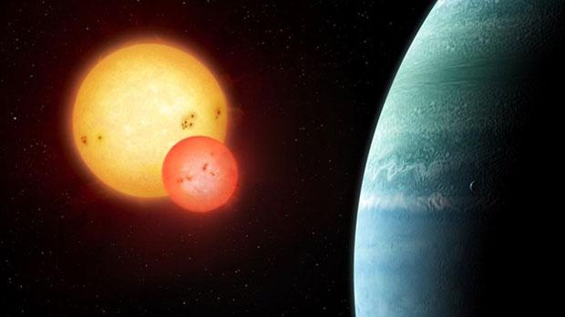 Kepler-453 system showing